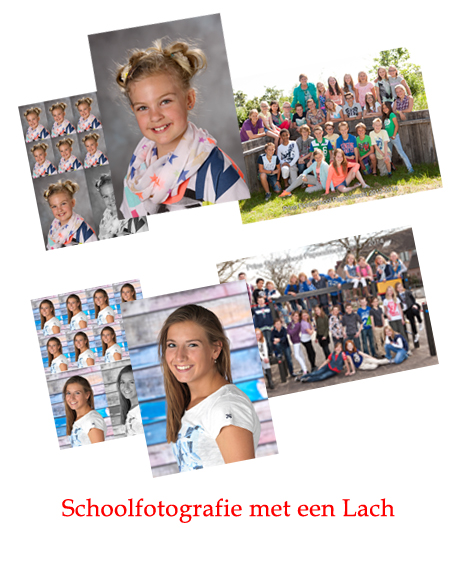 Schoolfotografie met een lach